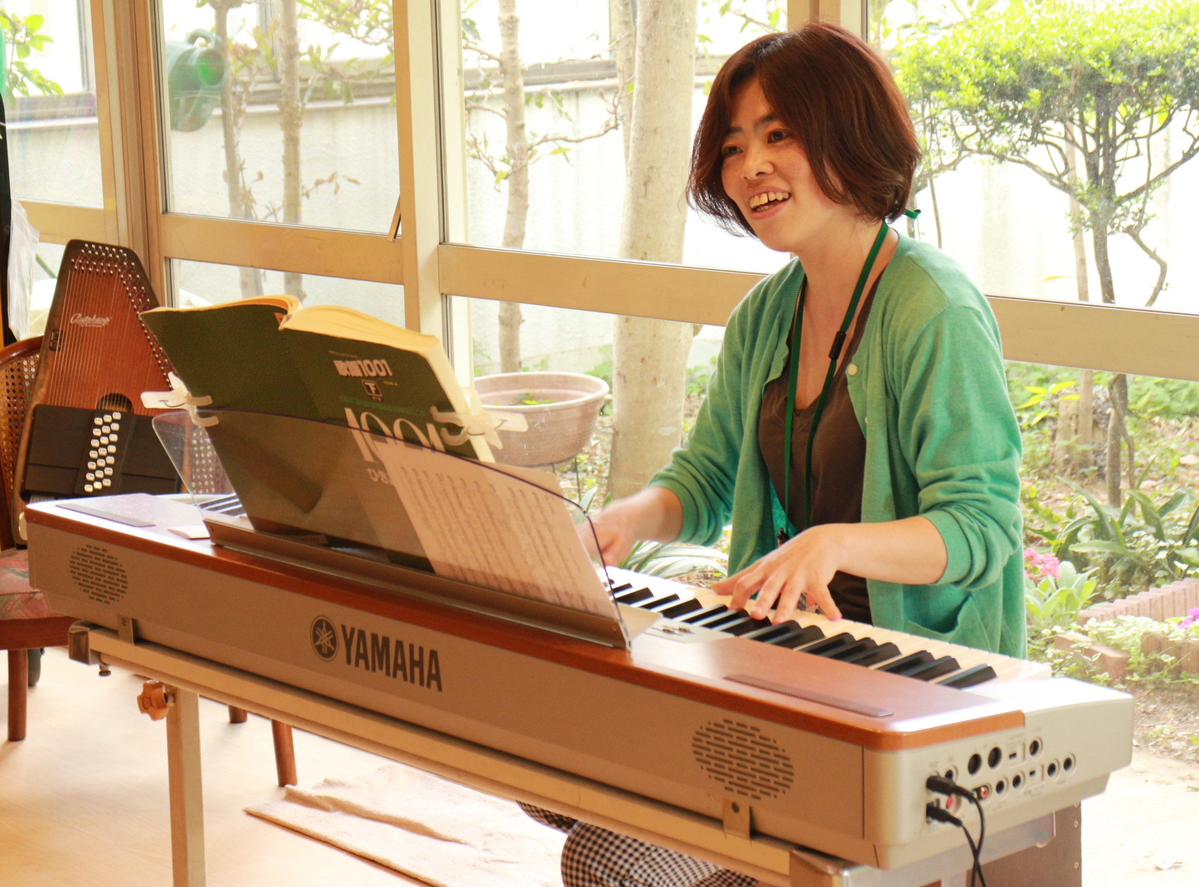 音楽療法士:平岡 雅美先生